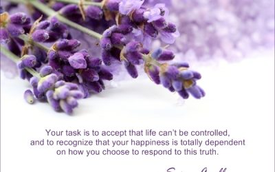Life can't be controlled…