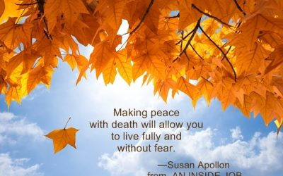 Making Peace With Death…