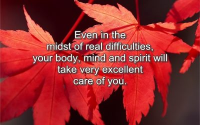 Even in the midst of difficulties…