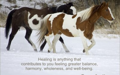 Healing Is About Wholeness And Harmony…