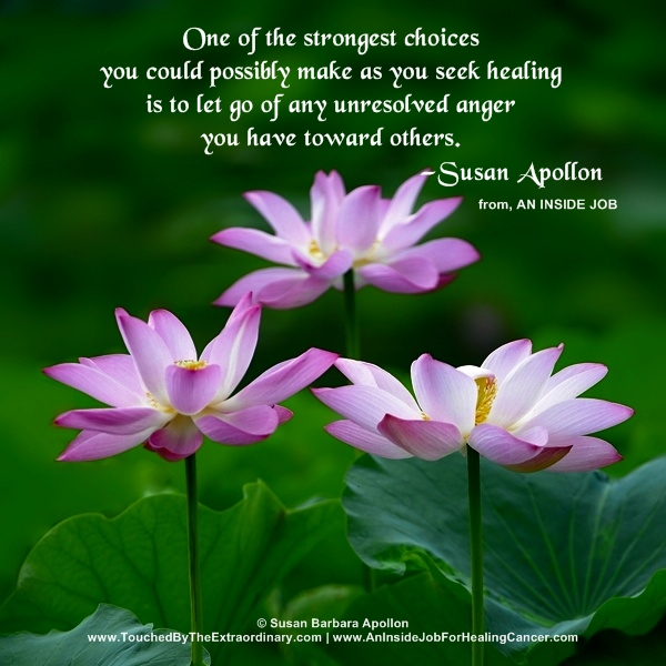 Let Go of Unresolved Anger…