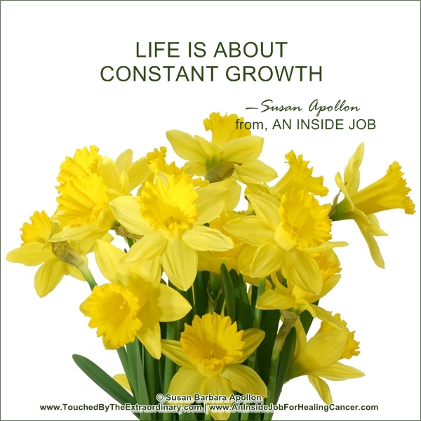 Life Is About Constant Growth…