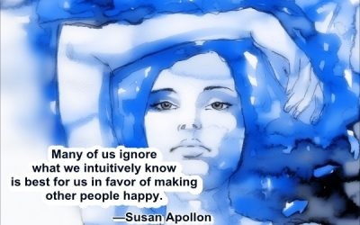 Many of us ignore what we intuitively know is best for us…