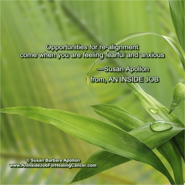 Opportunities for re-alignment…