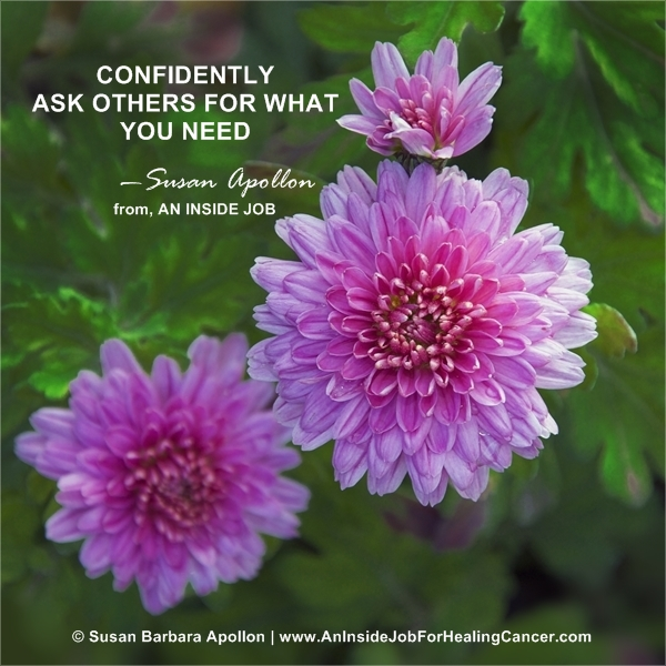 Confidently Ask Others For What You Need…