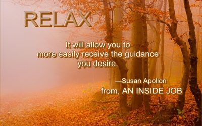 Relax and Receive Guidance…