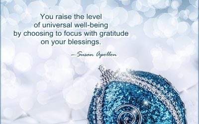 Share your feelings of being blessed and grateful…