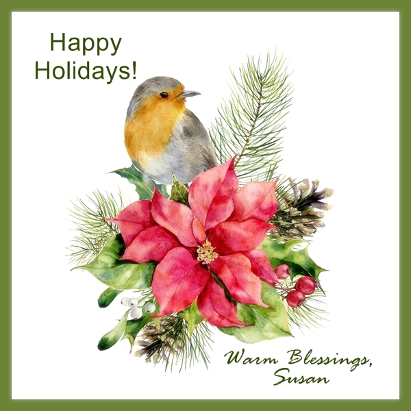 Sending you Love, Peace & Joy… Happy Holidays!