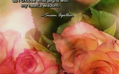 I Am Healing With My Heart's Wisdom…