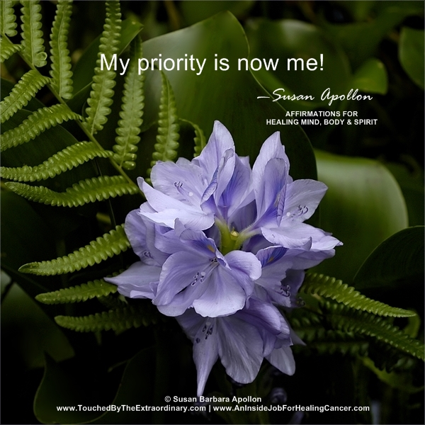 My Priority Is Now Me!