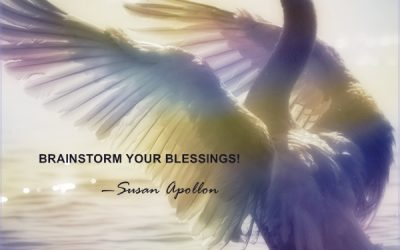 BRAINSTORM YOUR BLESSINGS…