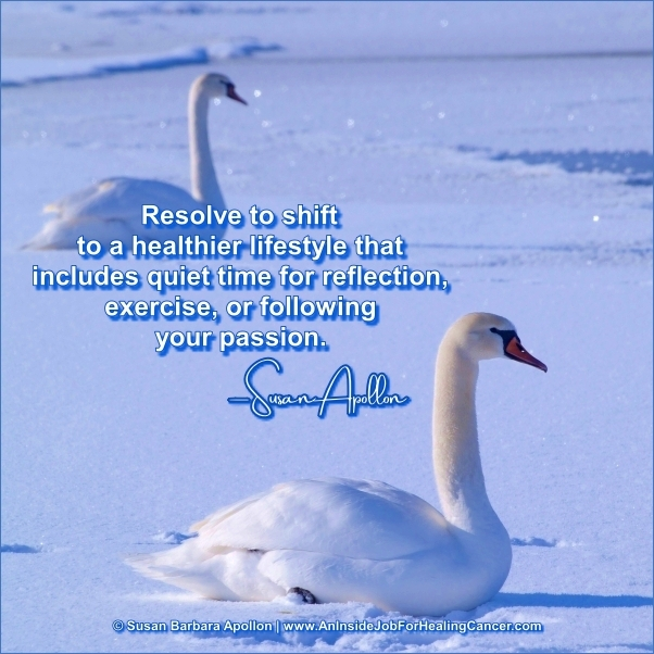 Resolve to shift to a healthier lifestyle…