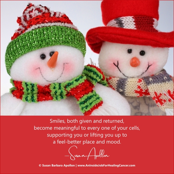 Smiles, both given and returned, have become meaningful…
