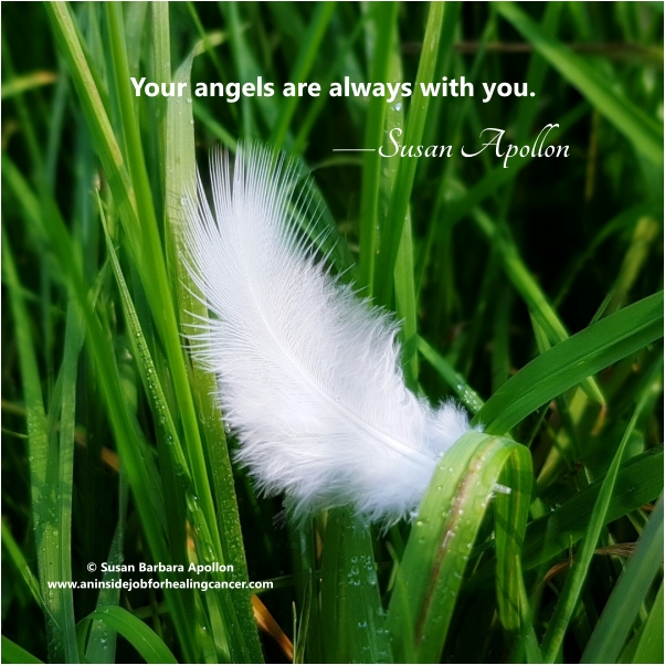 Your angels are always with you…