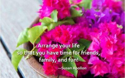 Time for friends, family, and fun!