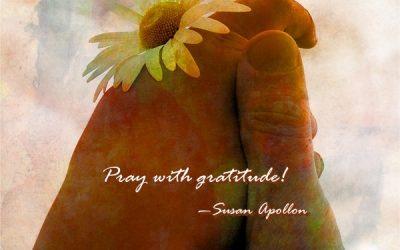 Praying With Gratitude…