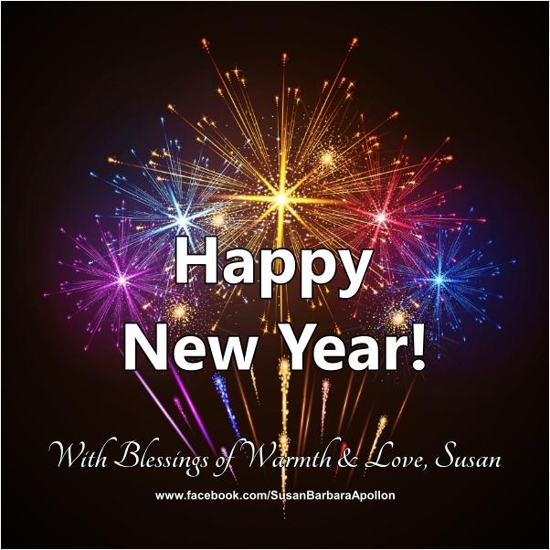 LOVE, PEACE AND JOY… Happy New Year!