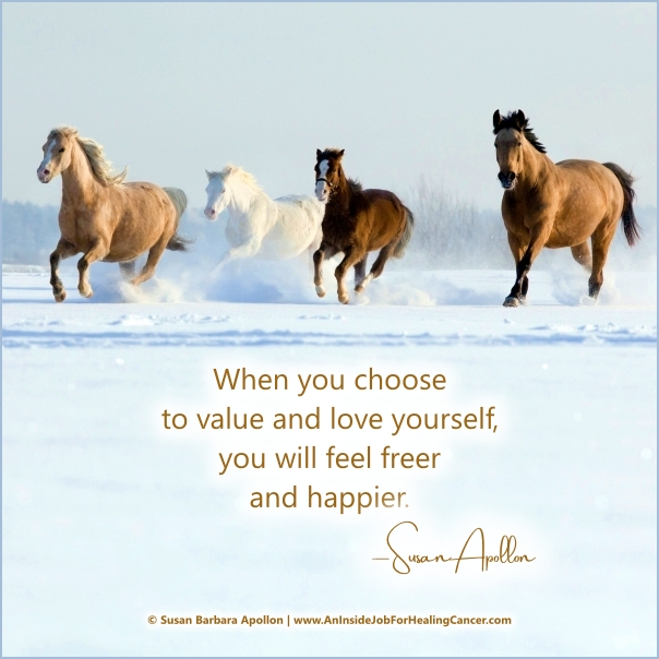 Choose To Value & Love Yourself…