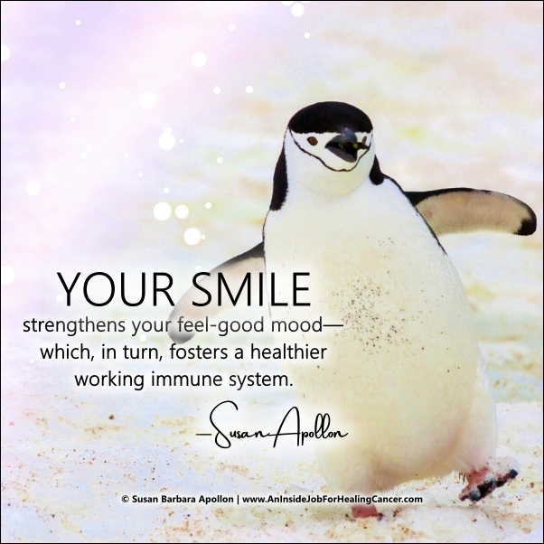 Your Smile Strengthens Your Feel Good Mood…
