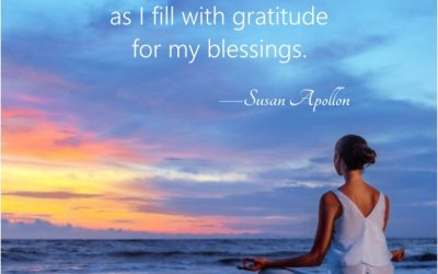 I HEAL as I fill with gratitude for my blessings…
