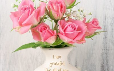 I am grateful for all of my blessings!