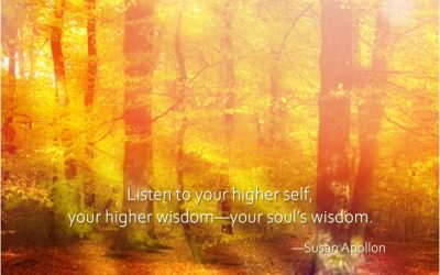 Listen to your higher self…