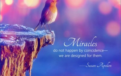 Miracles do not happen by coincidence…