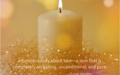 Intuition is truly about love…
