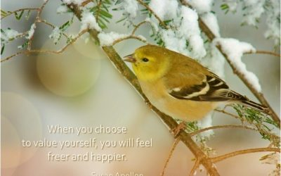Choose to value yourself…